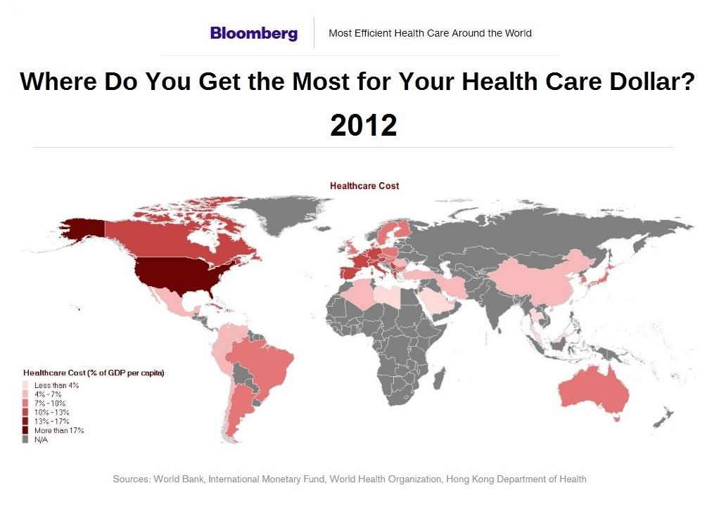 healthcare-cost-compared-to-gdp-by-nation-2012