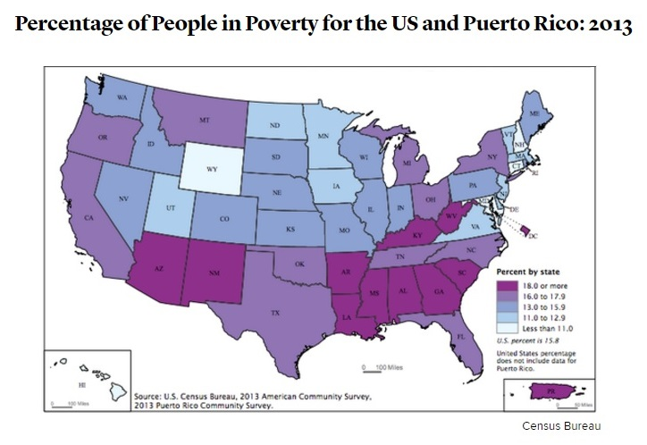 The difference in how conservatives and liberal view world poverty?