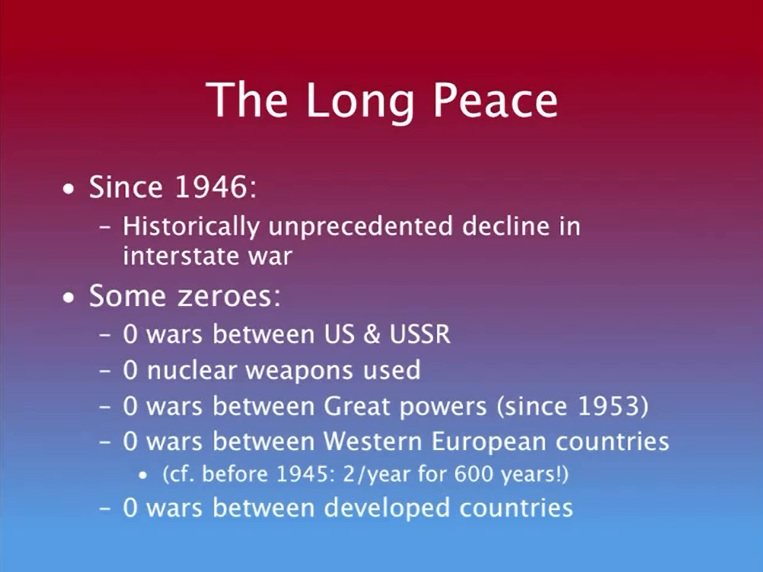 The Long Peace